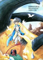 DIRIGEABLEillustration-1998-1999 by daichikawacemi