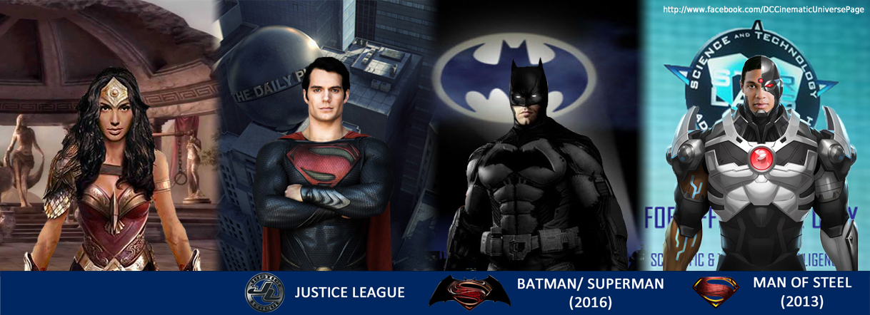 Dc Cinematic Universe Facebook Cover Photo By Gbigdog501
