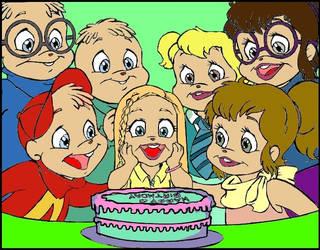 Happy Birthday Chipetita Color by GI-Joe09