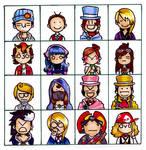 AJ-Emoticons -SPOILERS- by Himbeerschnee