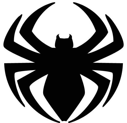 superior spider man logo by strongcactus on deviantart rh strongcactus deviantart com spiderman black logo red tank top spiderman black floor mats