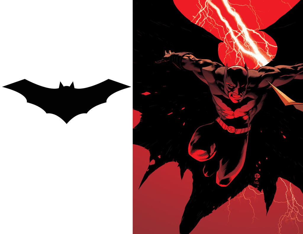 Batman 52 logo comparison by strongcactus
