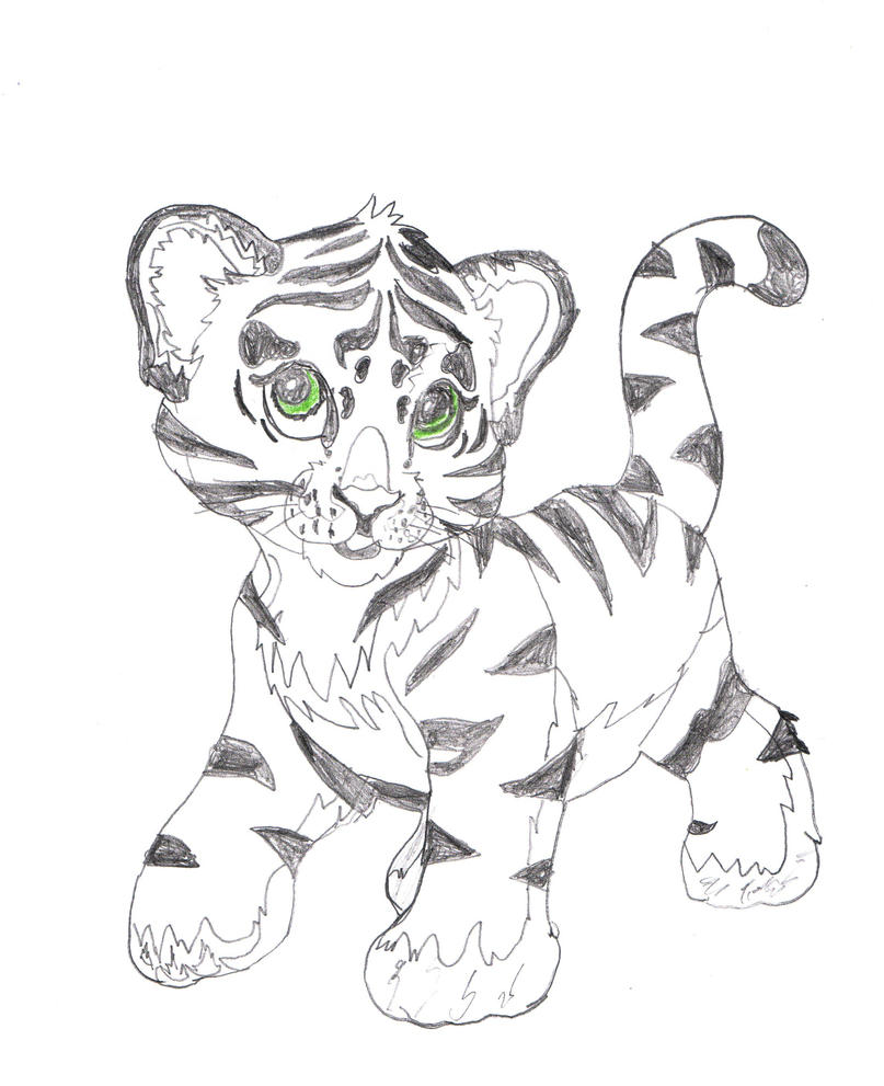 lisa frank tiger by amy pink on deviantart