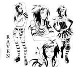 Vampire Kisses- Design Raven