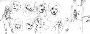 Zatanna Design I by xiannustudio