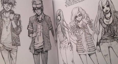 Sketchbook Xian Nu Studio - Preview