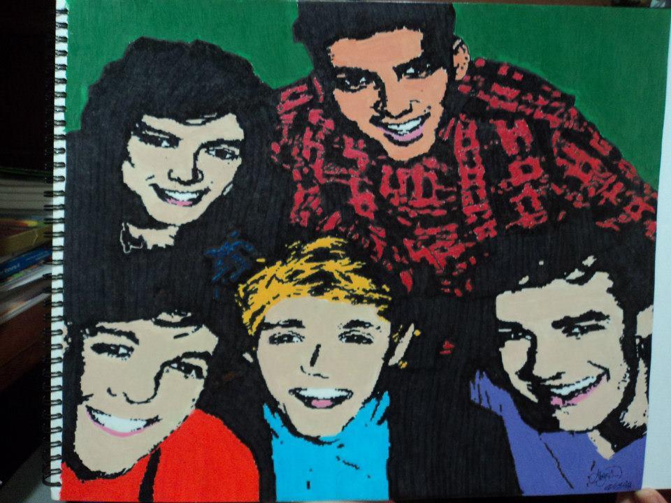 One Direction -Pop Art by atzirida on DeviantArt