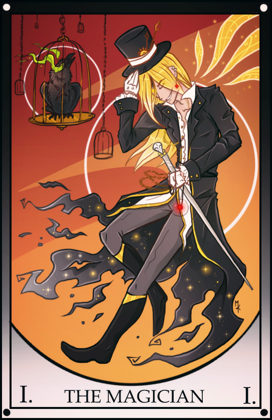 Numair: The Magician Tarot by Benathorn on DeviantArt