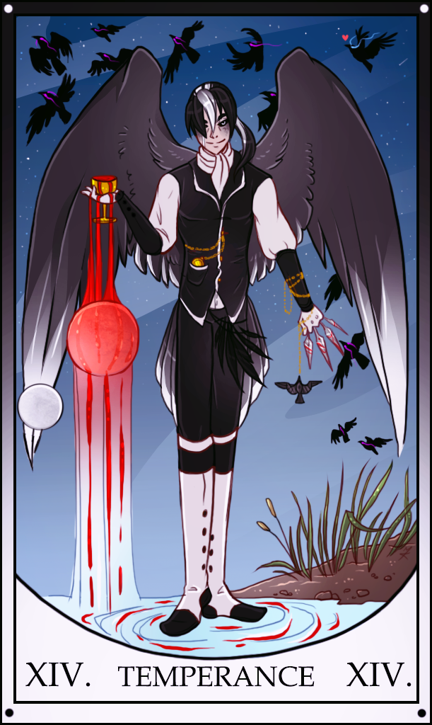 Sebastian: Temperance Tarot by Benathorn on DeviantArt