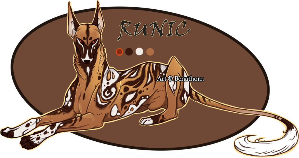 Oriental Jader- Runic [Auction- CLOSED]