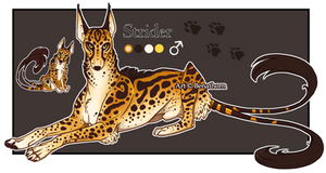 Feral Jader: Strider [Auction- CLOSED]