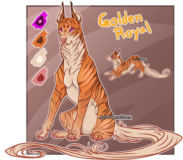 Feral Jader: Golden Royal [Auction- CLOSED]