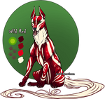 Feral Jader: Wild Red [Auction- CLOSED]