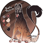 Feral Jader- Exotic Thylacine [Auction- CLOSED]