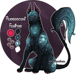 Feral Jader- Florescent Feather [Raffle: CLOSED]