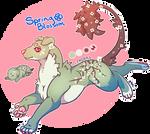 Domestic Jader- Spring Blossom [Bean- Grown]