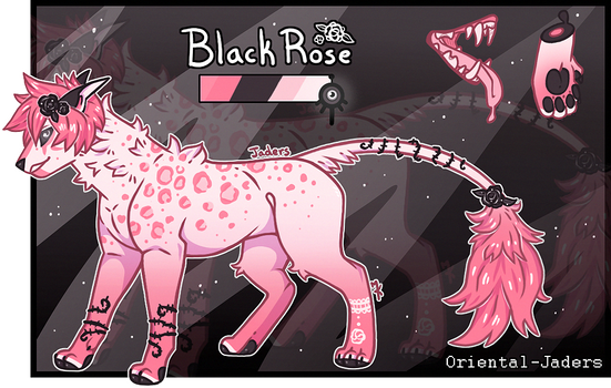 Imperial Jader- Black Rose [Auction- CLOSED]