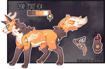 Feral Jader- Chime Spirit Fox [Auction- CLOSED]