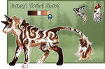 Feral Jader- Painted Tribal Swirl [Auction-CLOSED]