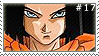 Android 17 Fan Stamp by detectivelyd