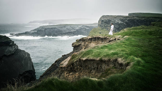 The Girl at the Cliffs