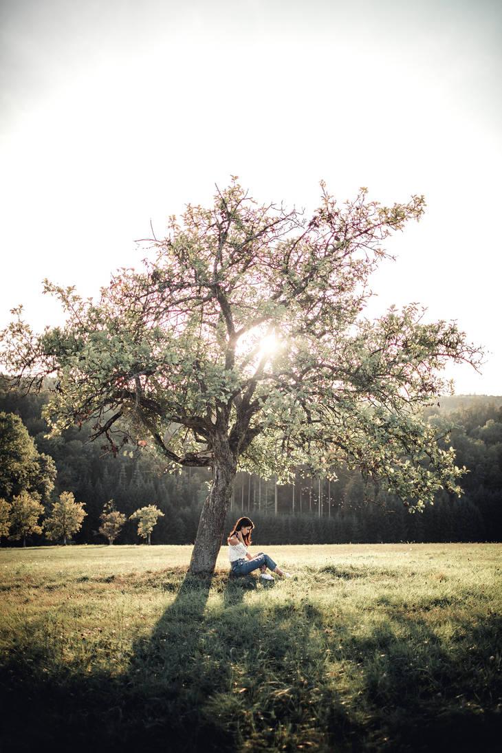 Autumn Girl VII by XeroLp