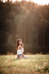 Autumn Girl IX