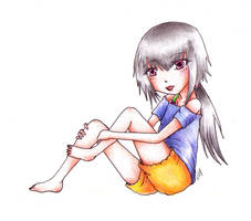 Saya. by Ellysa-chan