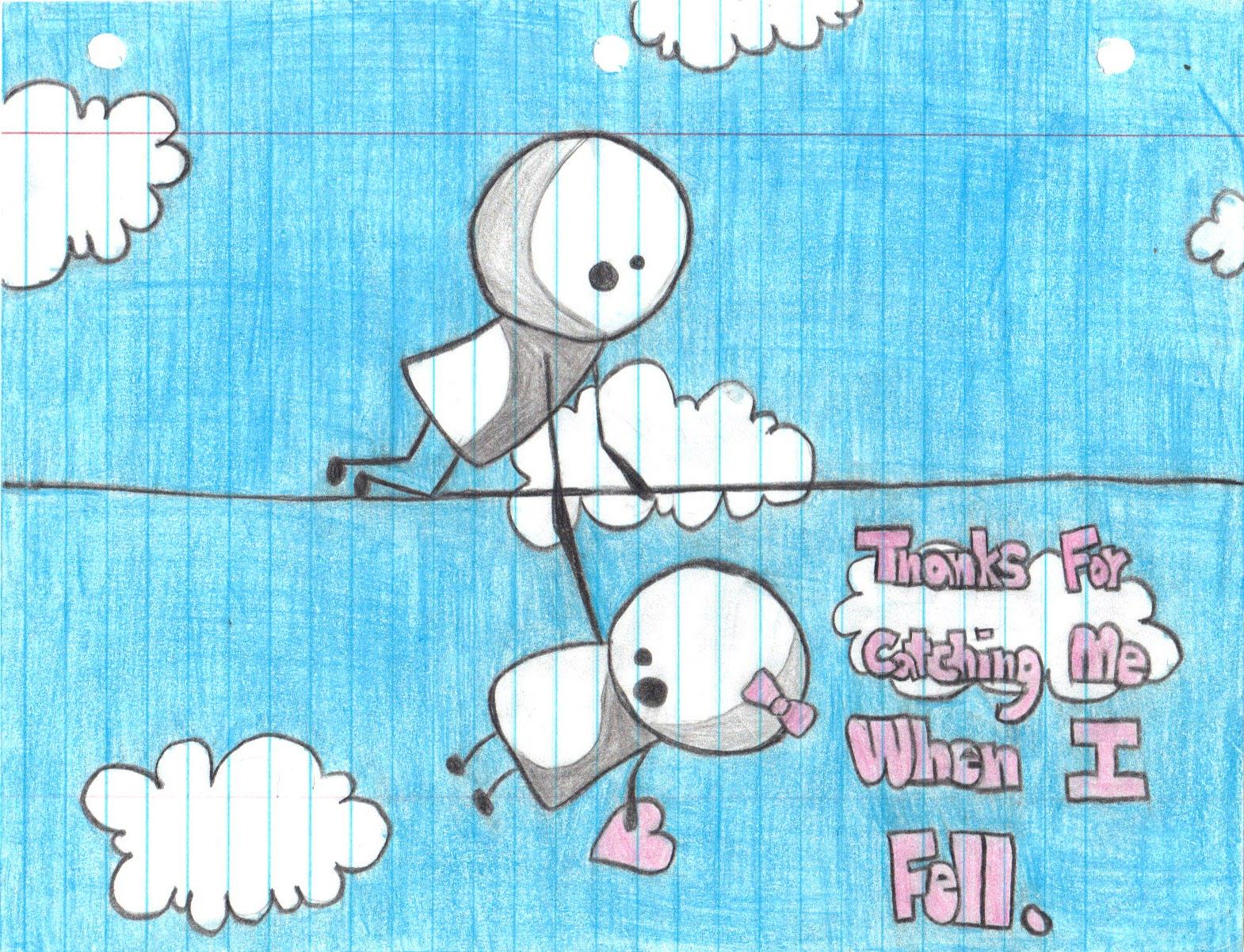 Cute Couple Drawing Ideas Tumblr