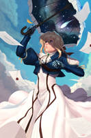 Violet Evergarden by Will2Link