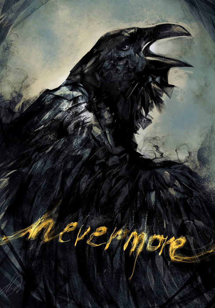 The Raven by Merolett