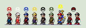 Super Mario Bros. JUS by Spritesliker007