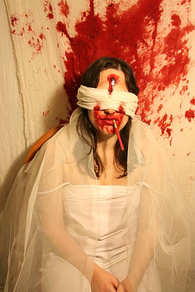 Zombie Wedding Photos By Silent Film Star