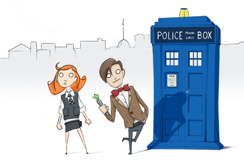 Doctor who by beleanabba