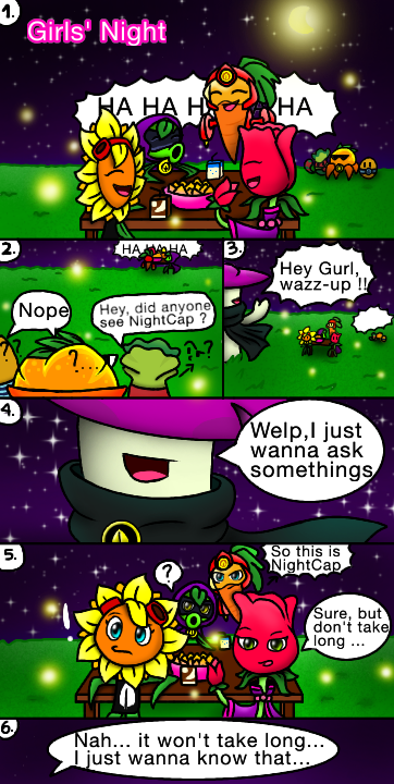 PvZ Heroes Comic: Girls Night, Part 1 by JackieWolly