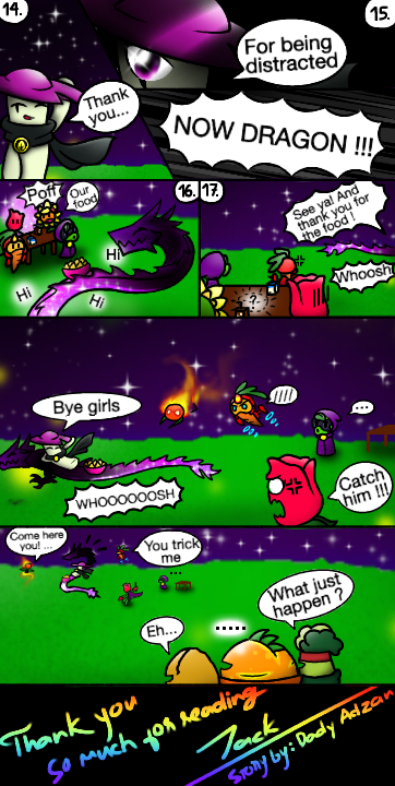 Pvz Heroes Comic Girls Night Part 3 By Jackiewolly On
