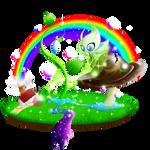 Pokemon FanArt: Celebi in the Wonderland
