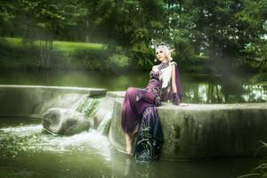 Shillien - Goddess of Water by Edelva