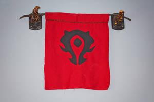Deathwing Horns - Horde Flag full