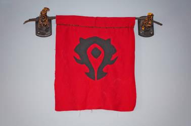 Deathwing Horns - Horde Flag full by nanecakes