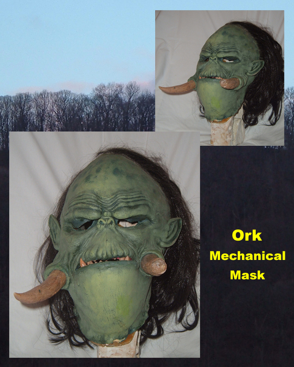 Ork Mask by Malith2001