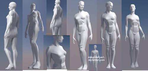Female figure model