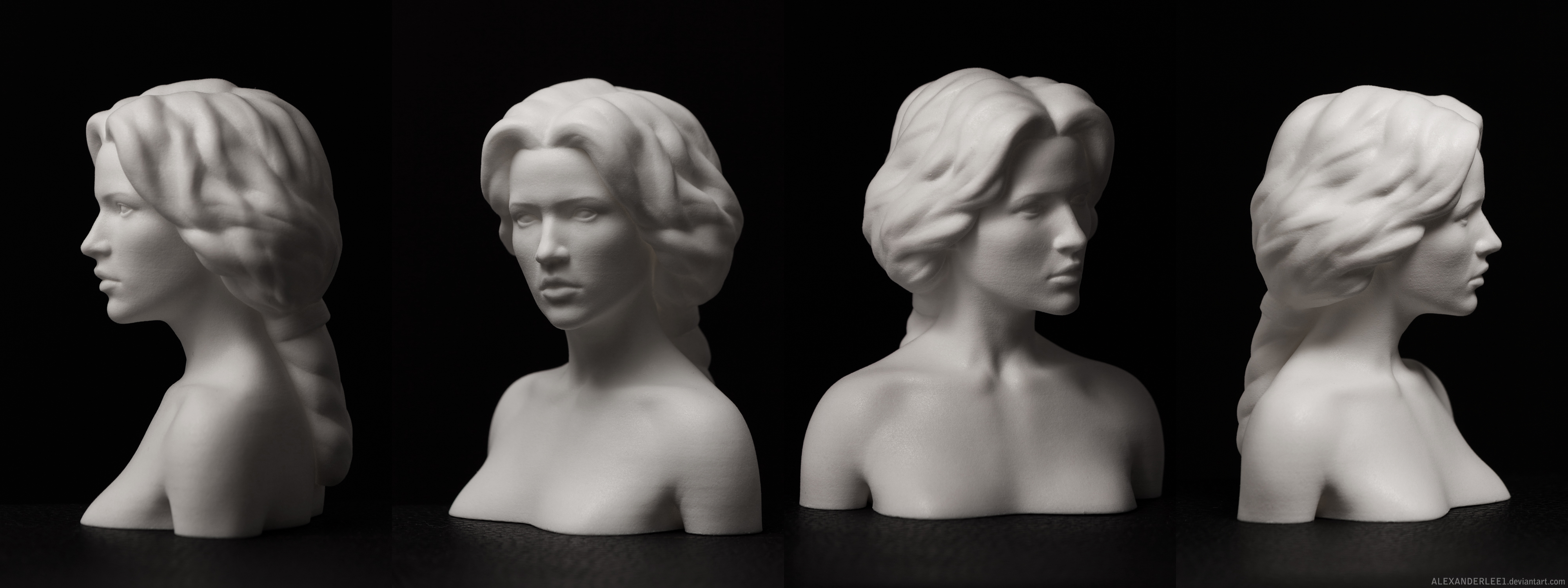 Zbrush With Crack Zbrush D Print Statuette By Alexanderlee Djpd