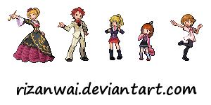 Umineko Pokemon Sprites pfff by RizanWAI