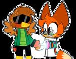 Hawkodile and Dr Fox XD