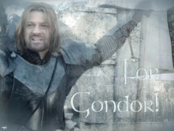 For Gondor by Stokrotka-z-Dolin
