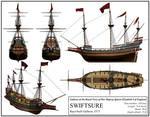 English Ship 'Swiftsure'
