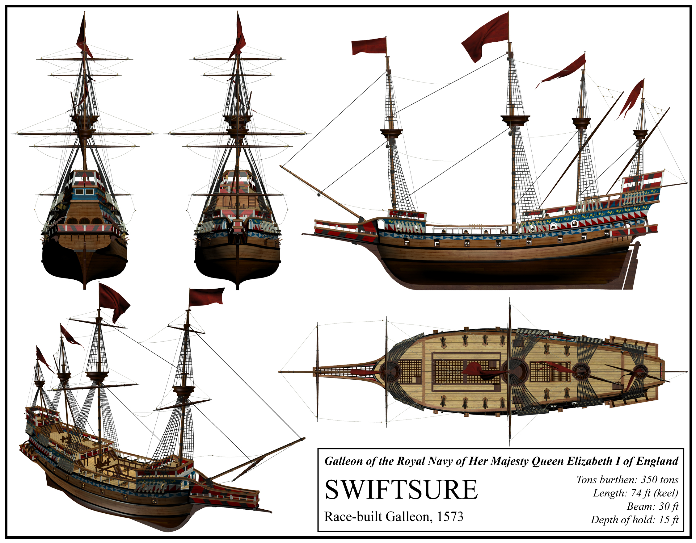 English Ship Swiftsure By DeviantKaled On DeviantArt