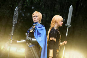 Fire Emblem - Dimitri and Ingrid