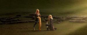 CASTLEVANIA cosplay - Alucard and Maria